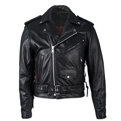 6. Hot leathers Classic Motorcycle Jackets