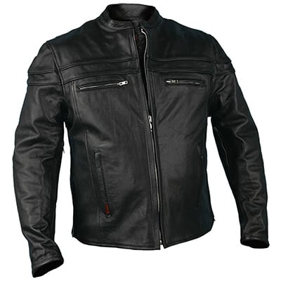 5. Hot leathers Men's heavyweight Jacket