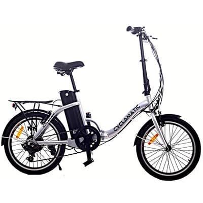 8. Cyclamatic CX2 Electric Foldaway Bike