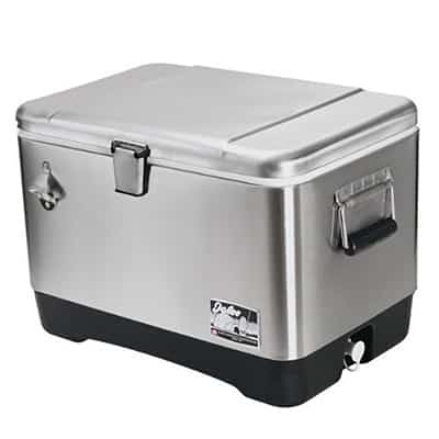 7. Igloo 54-Qt Stainless Steel Coolers
