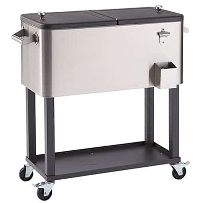 1. Trinity TXK-0802 Stainless Steel Cooler
