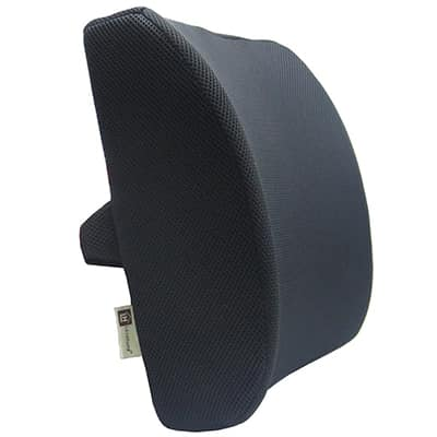 6. Love Home Foam Lumbar Support Pillow