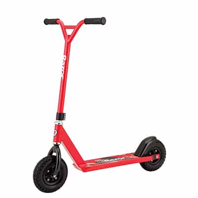 3. Razor Pro RDS Dirt Scooter – Red