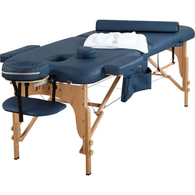 8. Sierra Comfort Portable All -Inclusive Massage Table