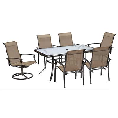 8. Garden Oasis Harrison Dining Set