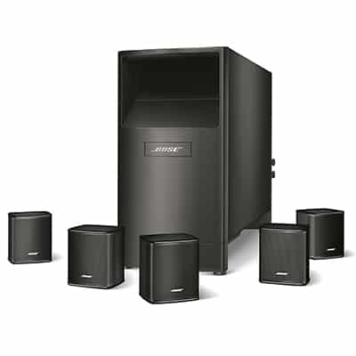 3. Bose Acoustimass Theatre System