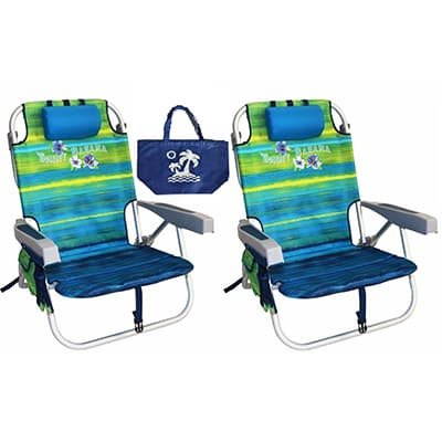 2. Tommy Bahama Beach Backpack Chair