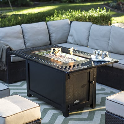Ordinaire Napoleon Victorian Gas Fire Pit Table