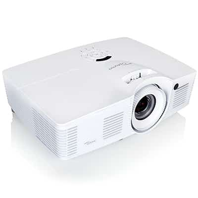 2. Optoma EH416 1080p 3D DLP Business Projector, Full HD