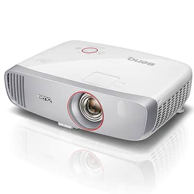 1. BenQ HT2150ST Home Theater Projector 1080p, with Short Throw for Gaming Movies and Sports