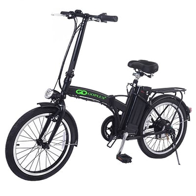 Goplus 250w Electric Folding Bike