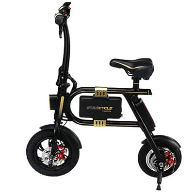 9. SWAGTRON E-Bike Folding Bike