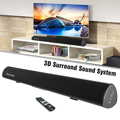 Top 10 Best TV Sound Bars in 2020 - Closeup Check