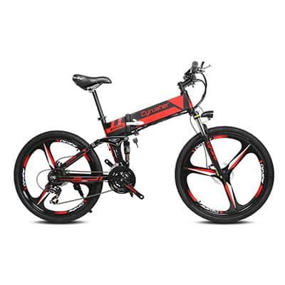 3. Cyrusher XF700 Electric Folding Bike