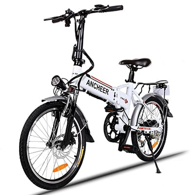 7. ANCHEER Electric Folding Bike