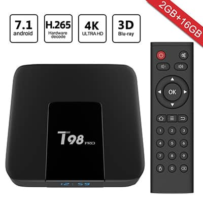 2. Greatever T98 Pro Android TV Box