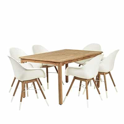 2. Amazonia Tropez Patio Dining Set