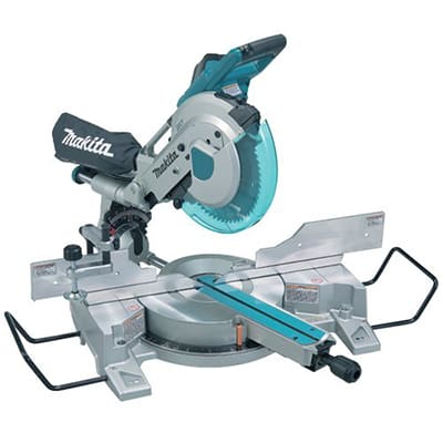 9. Makita LS1016L Dual Slide Compound 10-Inch Miter Saw with Laser