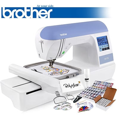Top 40 Best Embroidery Machines In 40 Closeup Check Stunning Brother Sewing Embroidery Machine For Sale