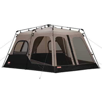 3. Coleman 8 Person Instant Tent