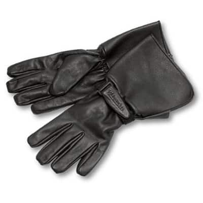 6. Milwaukee Motorcycle Clothing Company Leather Riding Gloves for Men