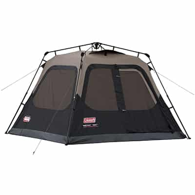 10. Coleman 4 -Person Instant Tent