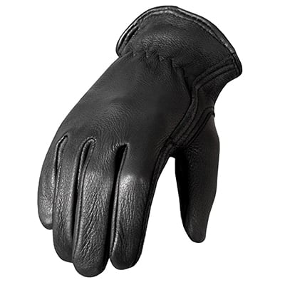 8. Hot Leathers Classic Deerskin Driving Gloves