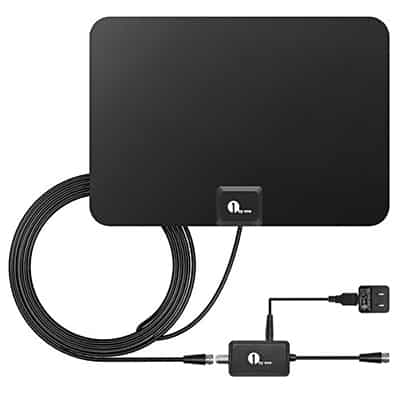 1. 1byone Amplified Indoor HDTV Antenna