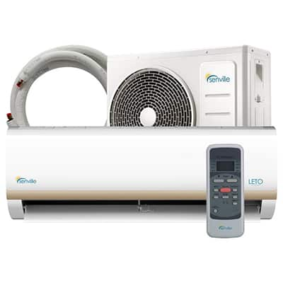 2. Senville SENL-09CD Mini Split Air Conditioner