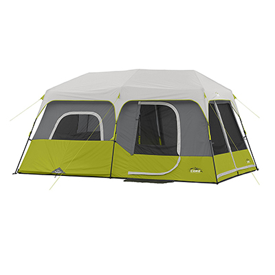 1. CORE 14' x 9', 9 Person Instant Cabin Tent