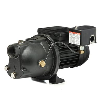 2. Red Lion PWJET50 50psi Shallow Well Jet Pump