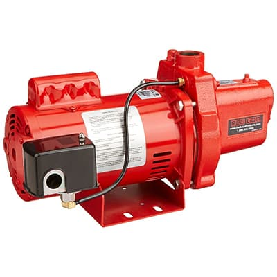 9. Red Lion RJS-100-PREM 602208 Shallow Well Jet Pump