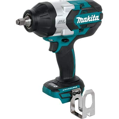 5. Makita XWT08Z LXT Brushless Cordless High Torque Square Drive Impact Wrench
