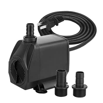8. KEDSUM 880GPH Submersible Pump, 100 watts