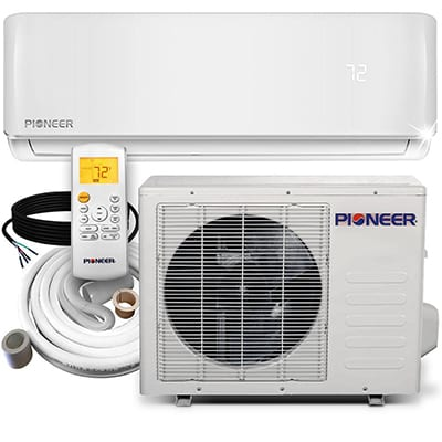 1. Pioneer WYS012-117 Mini Split Air Conditioner System