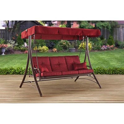 5. Mainstays Callimont Park 3-Seat Daybed or swing