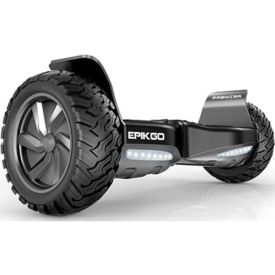 1. Epikgo Premier Series Self Balancing Scooter, 8.5-inch All Weather Tires