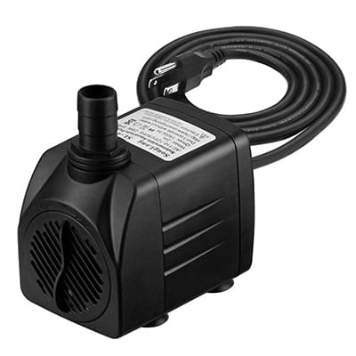 10. Homasy 400GPH 25W Submersible Pump, Fountain Water Pump