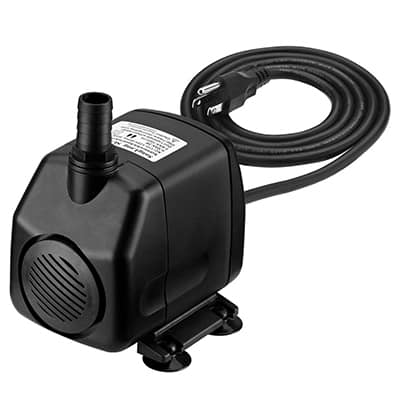 2. Homasy 920 GPH Submersible Water Pump with 5.9ft Power Cord