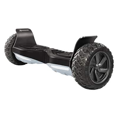 "9. HoverboardX HBX-AT Hoverboard, 8.5"" All Terrain Tires, 400W Dual Motors"