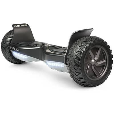 10. Halo Rover Hoverboard, Halo Bluetooth Speakers, Free carry bag