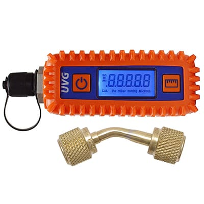4. Uniweld UVG Digital Vacuum Gauge and Adaptor