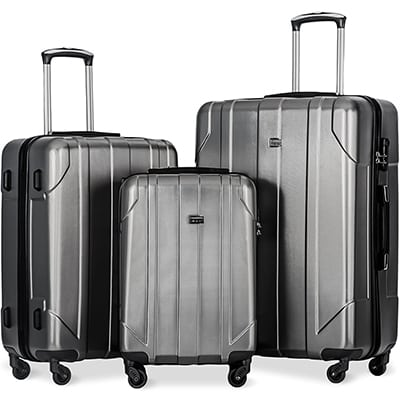 5. Merax P.E.T Luggage Spinner Suitcase