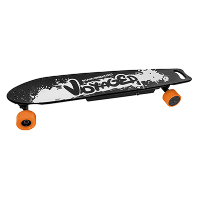 1. SWAGTRON Swag Board Voyager Motorized skateboard Remote & Dual 350W