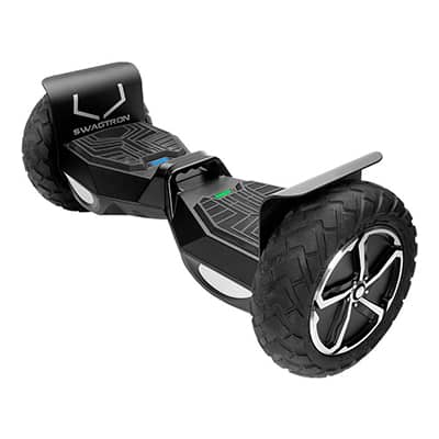 2. SWAGTRON T6 Off-Road Hoverboard, 10-inch wheels