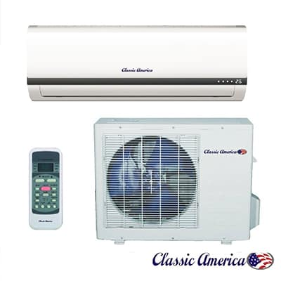 10. Classic America Ductless Mini Split Air Conditioner