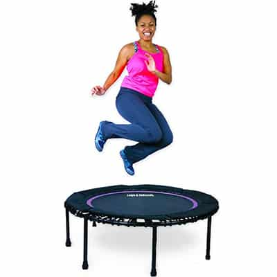 2. Leaps & Rebounds Mini Trampoline