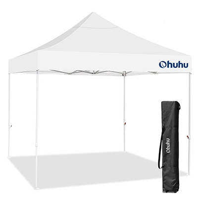 6. Ohuhu Pop-Up Canopy Instant Shelter, 10 by 10 Feet