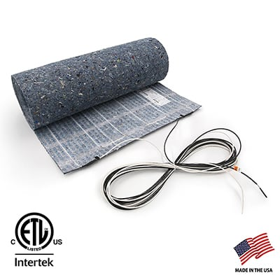 8. ThermoSoft 7.5 sqft Floor Heat Mat
