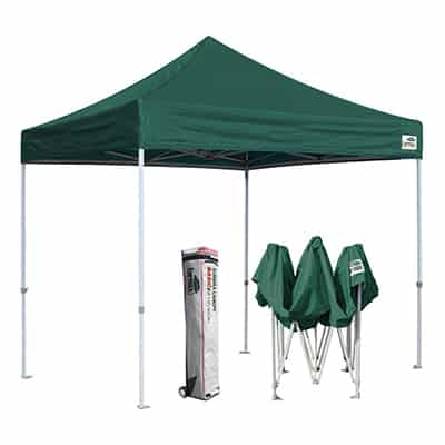 1. Eurmax EZ Pop Up Canopy Tent Commercial Instant Shelter, 10 by 10 Feet